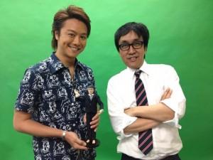 TAKAHIROの番組出演時写真